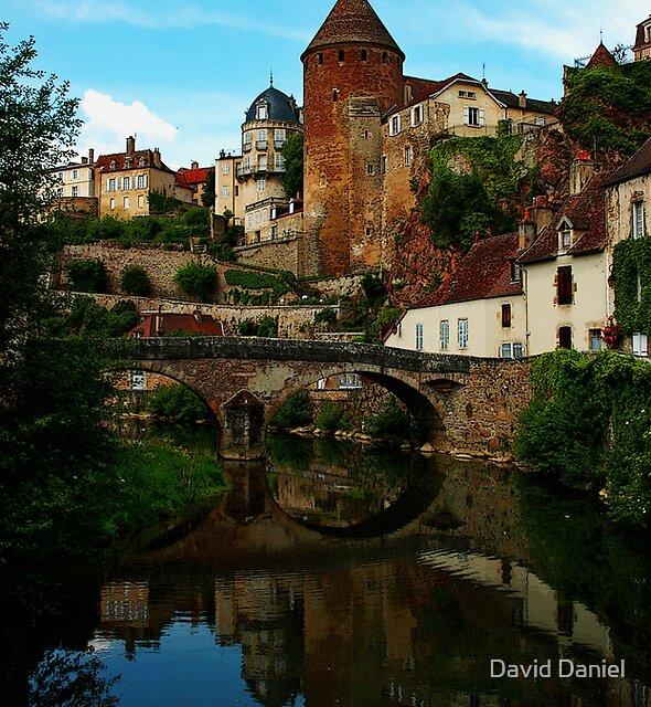 Pont Pinard - Semur En Auxois by David Daniel