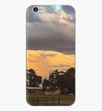 GOD'S EYE OVER FARM iPhone Case