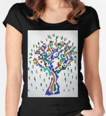 The Crying Tree Women's Fitted Scoop T-Shirt