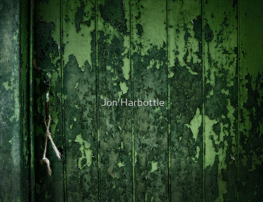 green door by Jon Harbottle