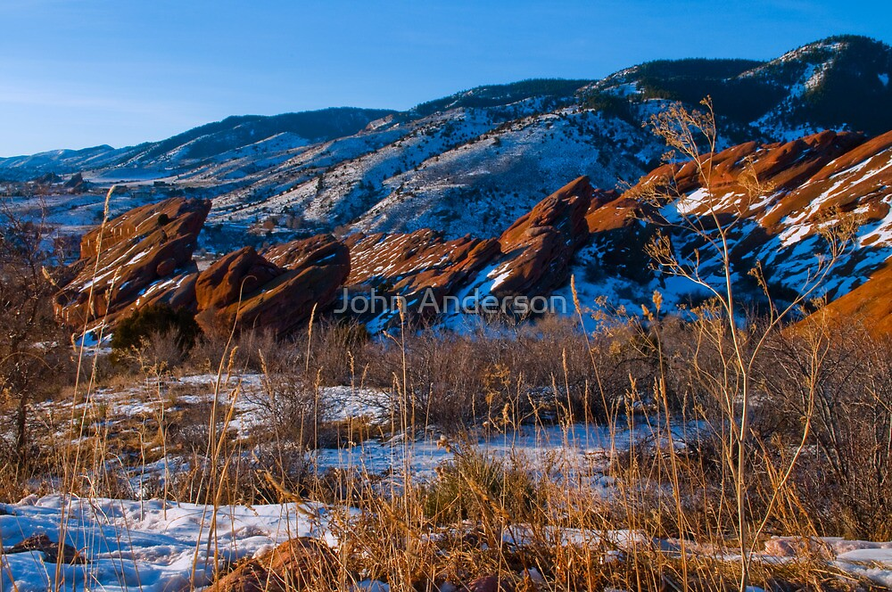 Shot of Red Rocks by John Anderson