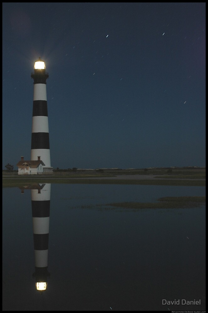 Reflecting On Bodie Island Light by David Daniel