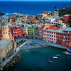 Vernazza Evening by Inge Johnsson