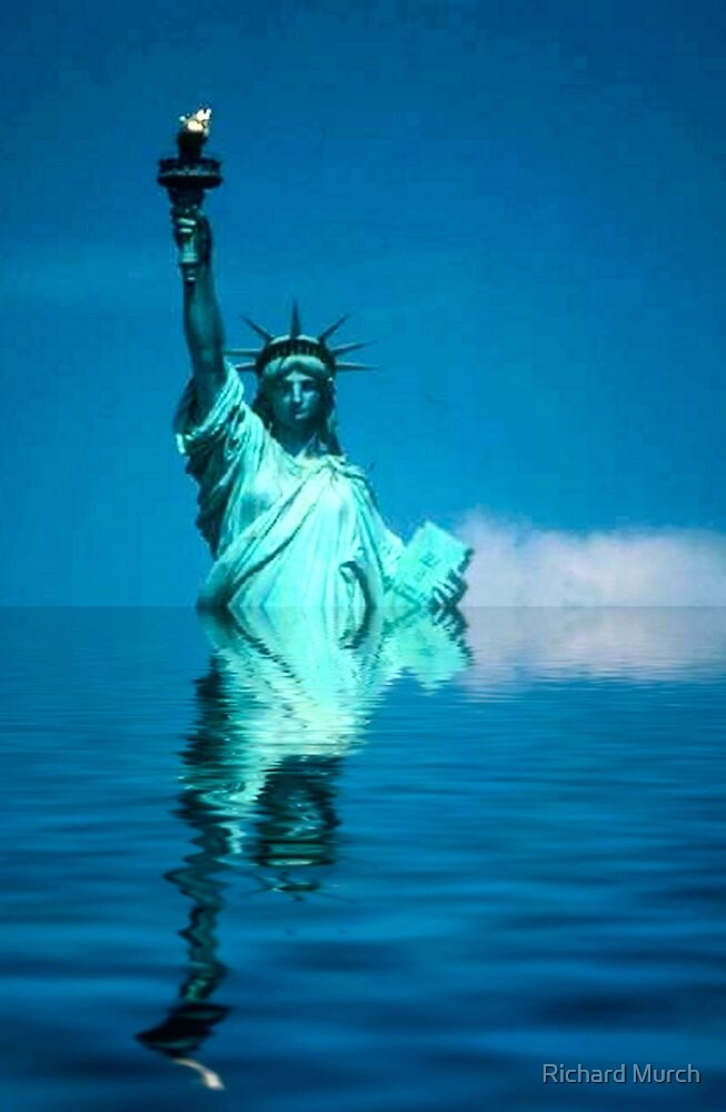 Lady Liberty - Warming by Richard Murch