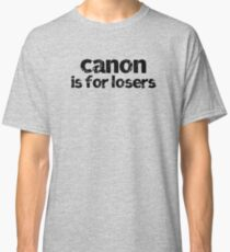 Canon Is For Losers Classic T-Shirt