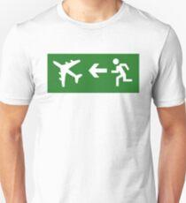 Flugreise Unisex T-Shirt