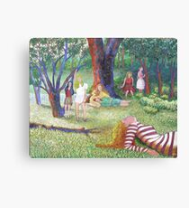 The Seven Muses Canvas Print
