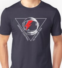Tribute to David Bowie Unisex T-Shirt