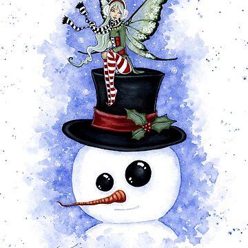 Frosty Friends by AmyBrownArt