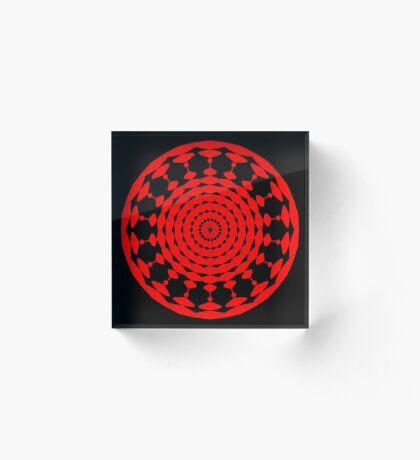 Mandala 001 Acrylic Block
