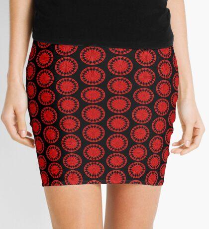 Mandala 001 Mini Skirt