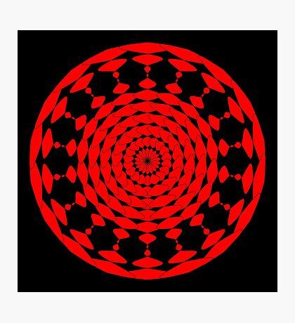 Mandala 001 Photographic Print