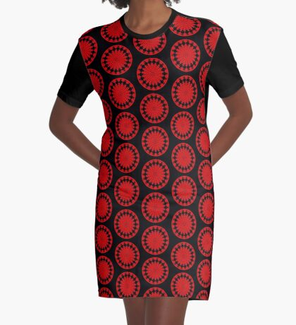 Mandala 001 Graphic T-Shirt Dress