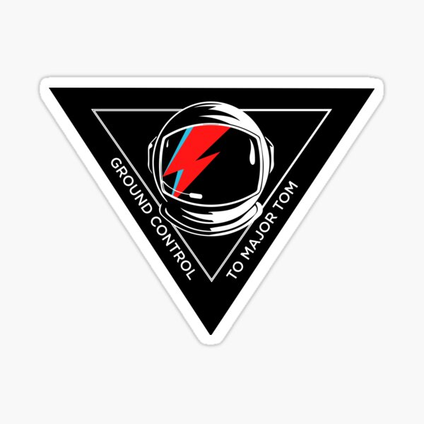 Tribute to David Bowie Sticker