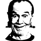 Comedy Legend George Carlin Goofing by Wii Mi