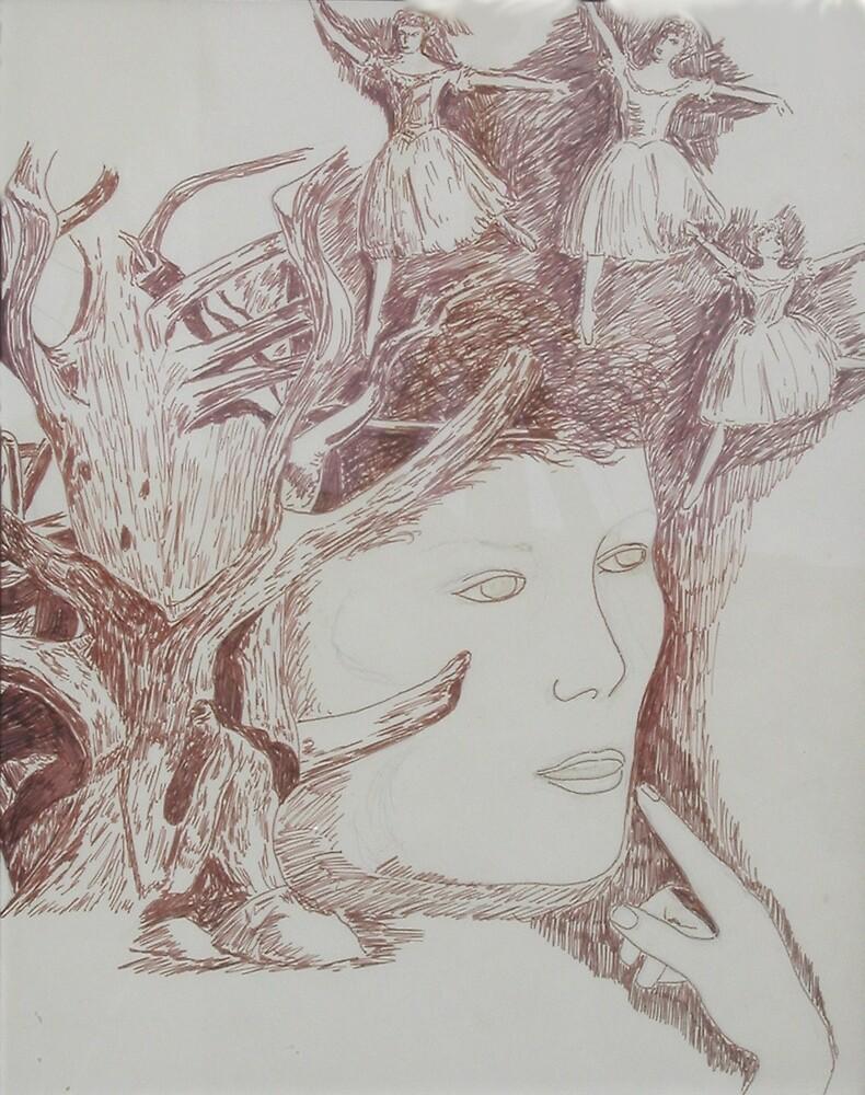 Dancing Trees by Dan  McNay