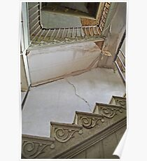 The winding staircase Poster