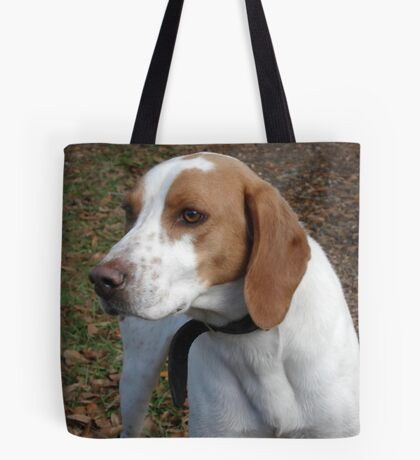 I think his name is 'Red'. Tote Bag