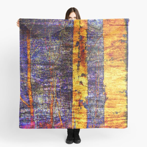 Golden Birchwoods Scarf