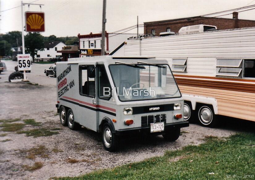 Electric Hybrid Van by Bill Marsh