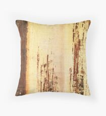 Venice Wall 4 - original acrylic abstract painting on panel Throw Pillow