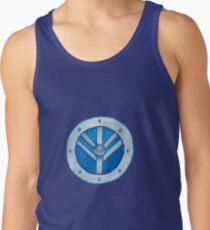 Camiseta de tirantes El escudo azul