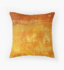 Venice Wall 3 - original acrylic abstract painting on panel Throw Pillow