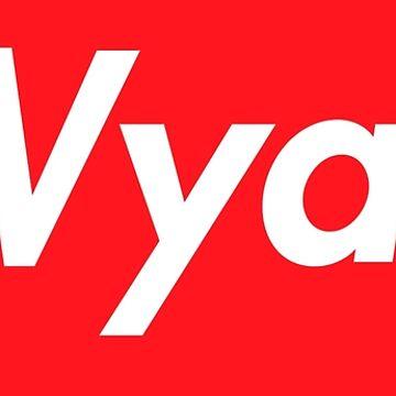 Hello My Name Is Wyatt Name Tag by efomylod