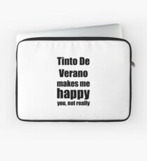 Tinto De Verano Cocktail Lover Funny Gift for Friend Alcohol Mixed Drink Laptop Sleeve