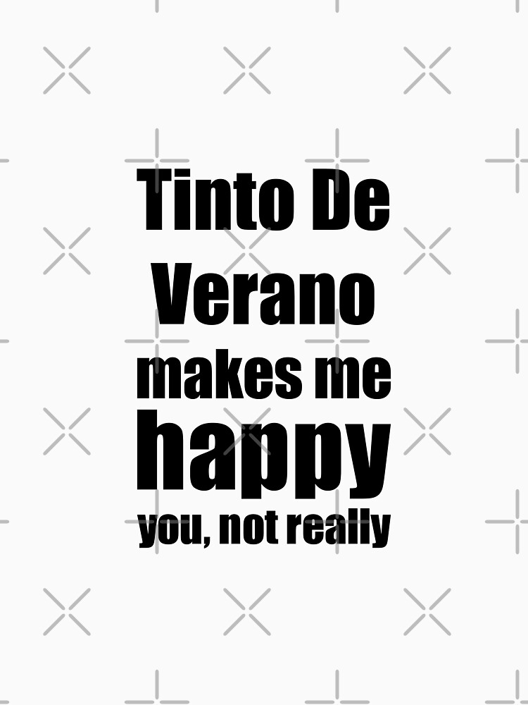 Tinto De Verano Cocktail Lover Funny Gift for Friend Alcohol Mixed Drink by FunnyGiftIdeas