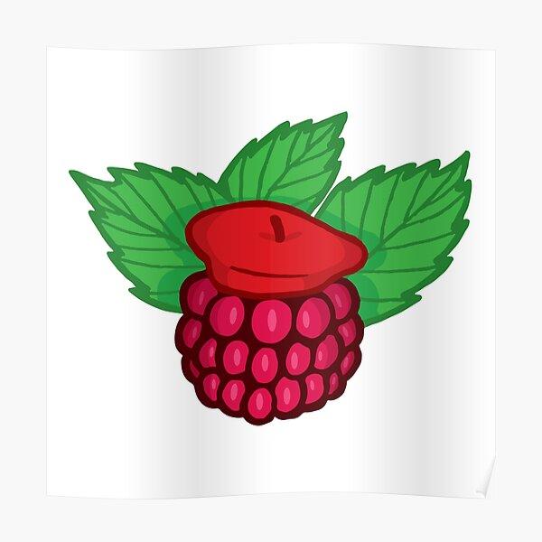 Raspberry Beret Poster