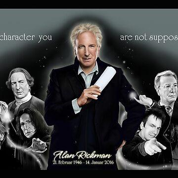 Alan Rickman - Always by Clarice82