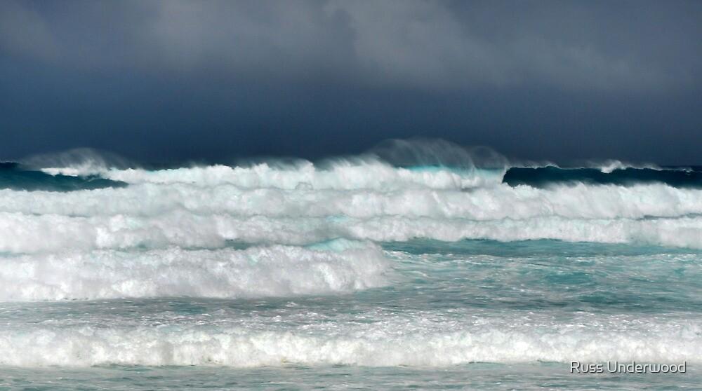 Hawaii Surf Advisory, Christmas Day 2009 by Russ Underwood