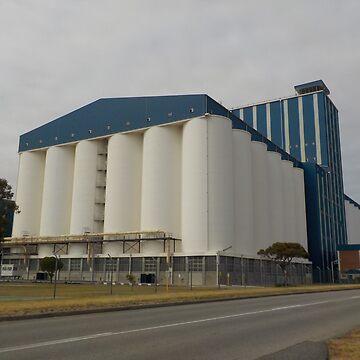 Grain Silos by lezvee
