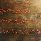 Short Hymn - original acrylic painting on canvas  by Marco Sivieri