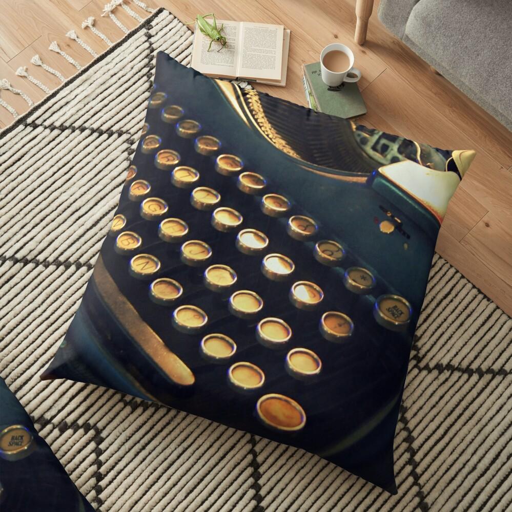 Just my type! Floor Pillow