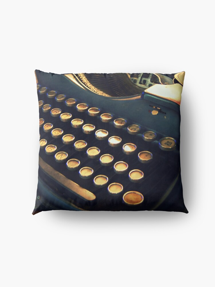 Alternate view of Just my type! Floor Pillow