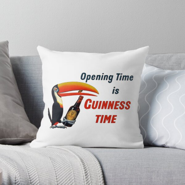 Opening Time Throw Pillow