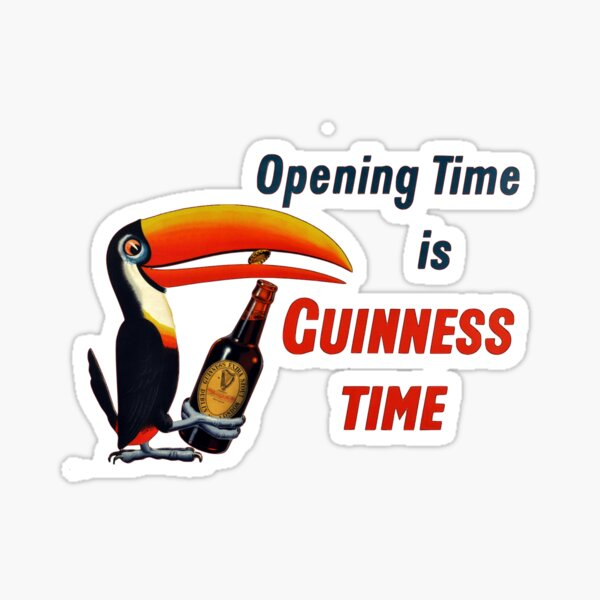 Opening Time Sticker