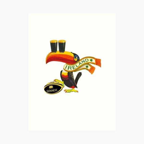 Ireland toucan Art Print