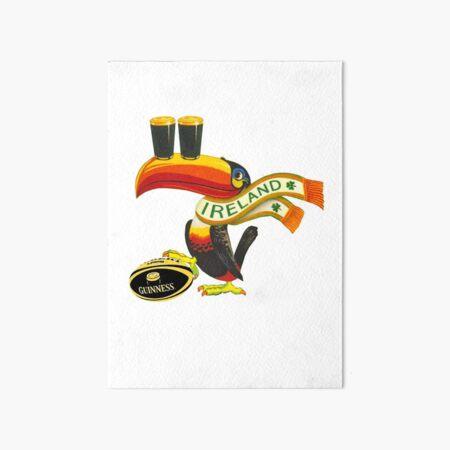 Ireland toucan Art Board Print