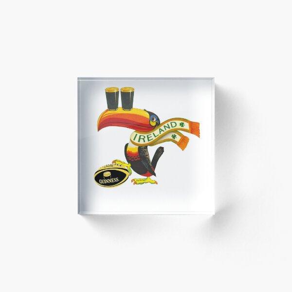 Ireland toucan Acrylic Block