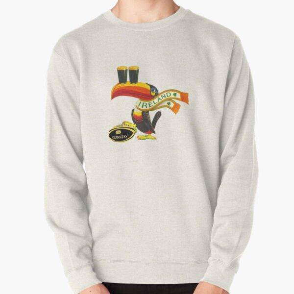 Ireland toucan Pullover Sweatshirt