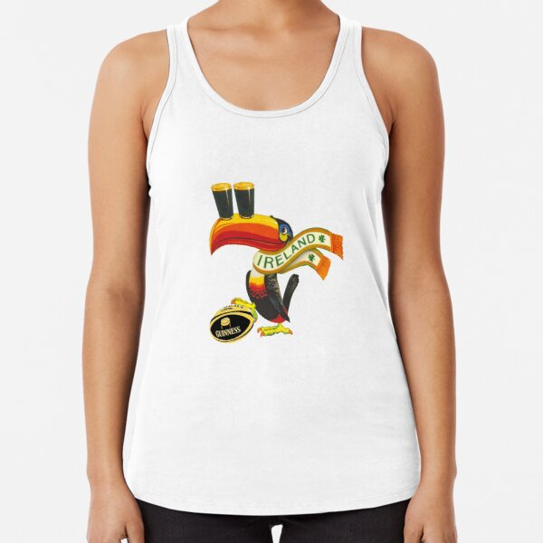Ireland toucan Racerback Tank Top