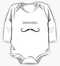 Mustachio - Indubitably. One Piece - Long Sleeve
