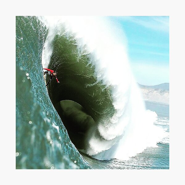 Steep Wave Photographic Print