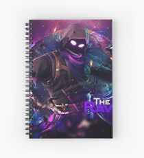 the raven Spiral Notebook