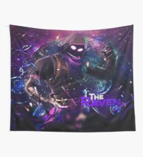 the raven Wall Tapestry