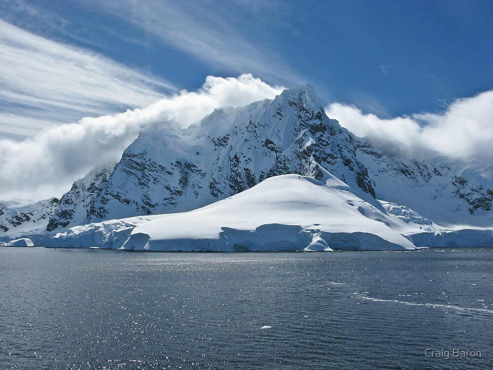 Antarctic Mountain by Craig Baron