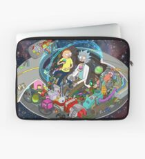 Rick and Morty cut-away Laptop Sleeve